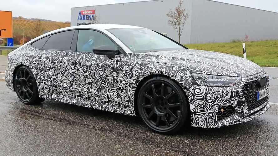 Audi RS 7 Sportback (2019) Erlkönig zeigt mehr