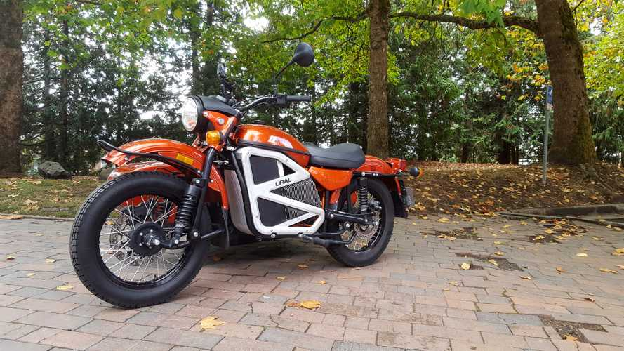 Electric Ural First Ride
