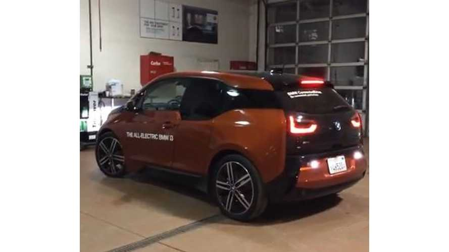 BMW i3 Will Shock You - Video