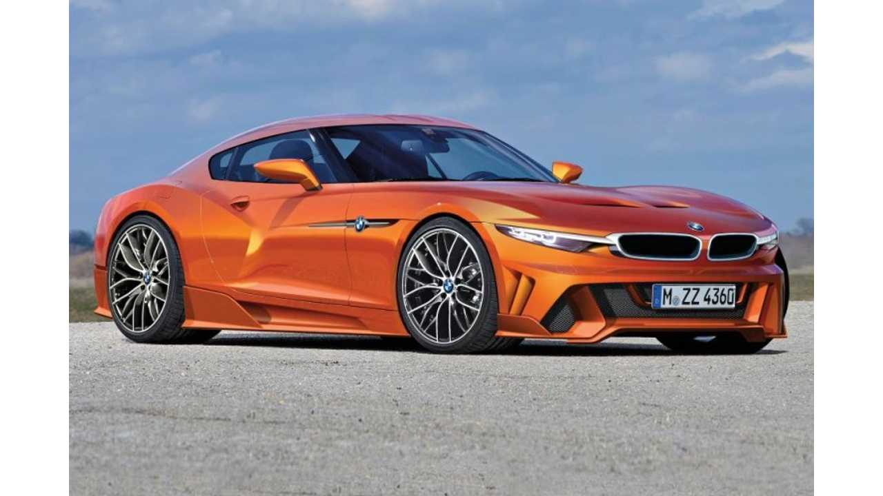 BMW Toyota Sports Car to Feature Supercapacitors, 2 Electric Motors and AWD