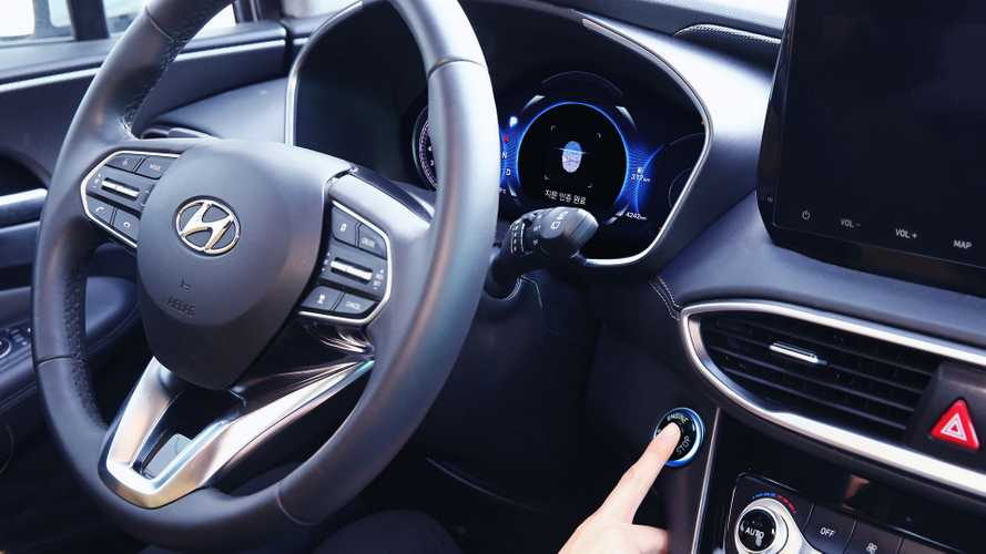2019 Hyundai Santa Fe fingerprint recognition technology