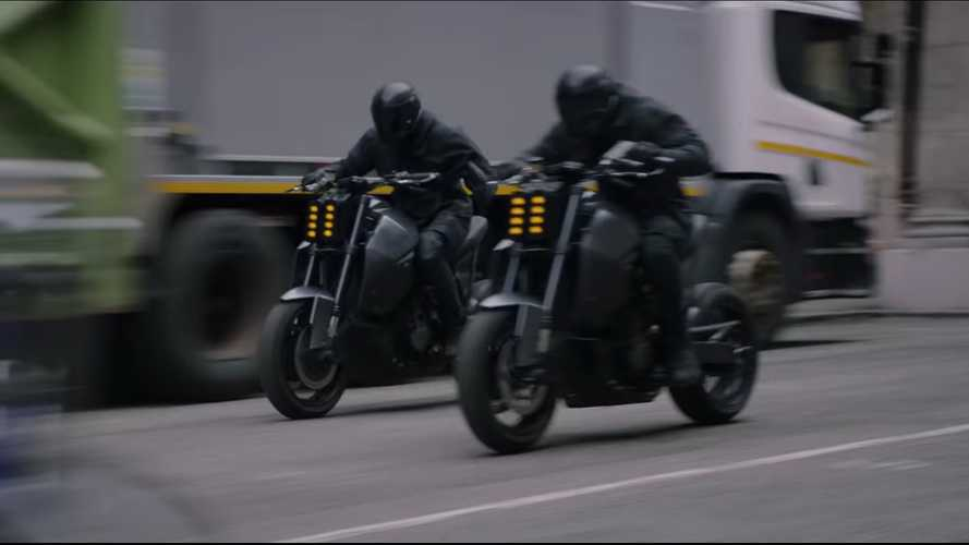 Bad Guy Idris Elba On Modded Speed Triple In Hobbs & Shaw