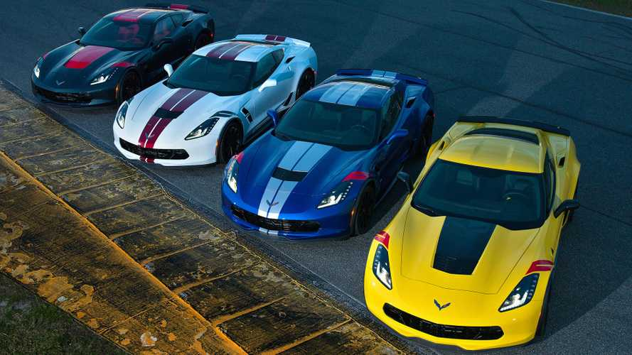 Chevrolet представил в Дайтоне Corvette Drivers Series Editions