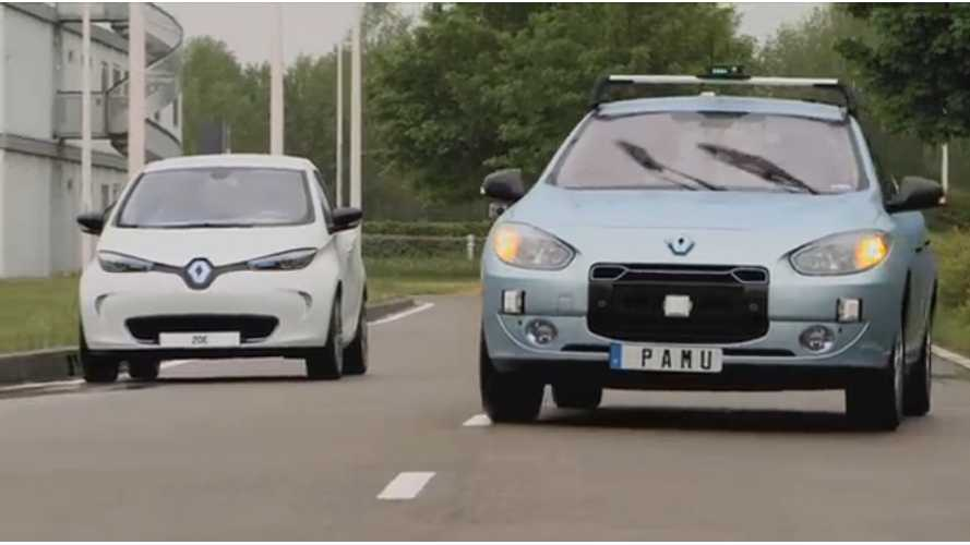 Renault Introduces Something That Makes Sense: Driverless Valet Parking and Pick-Up (video)