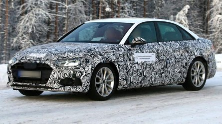 Facelifted Audi A4 Sedan Spied For The First Time