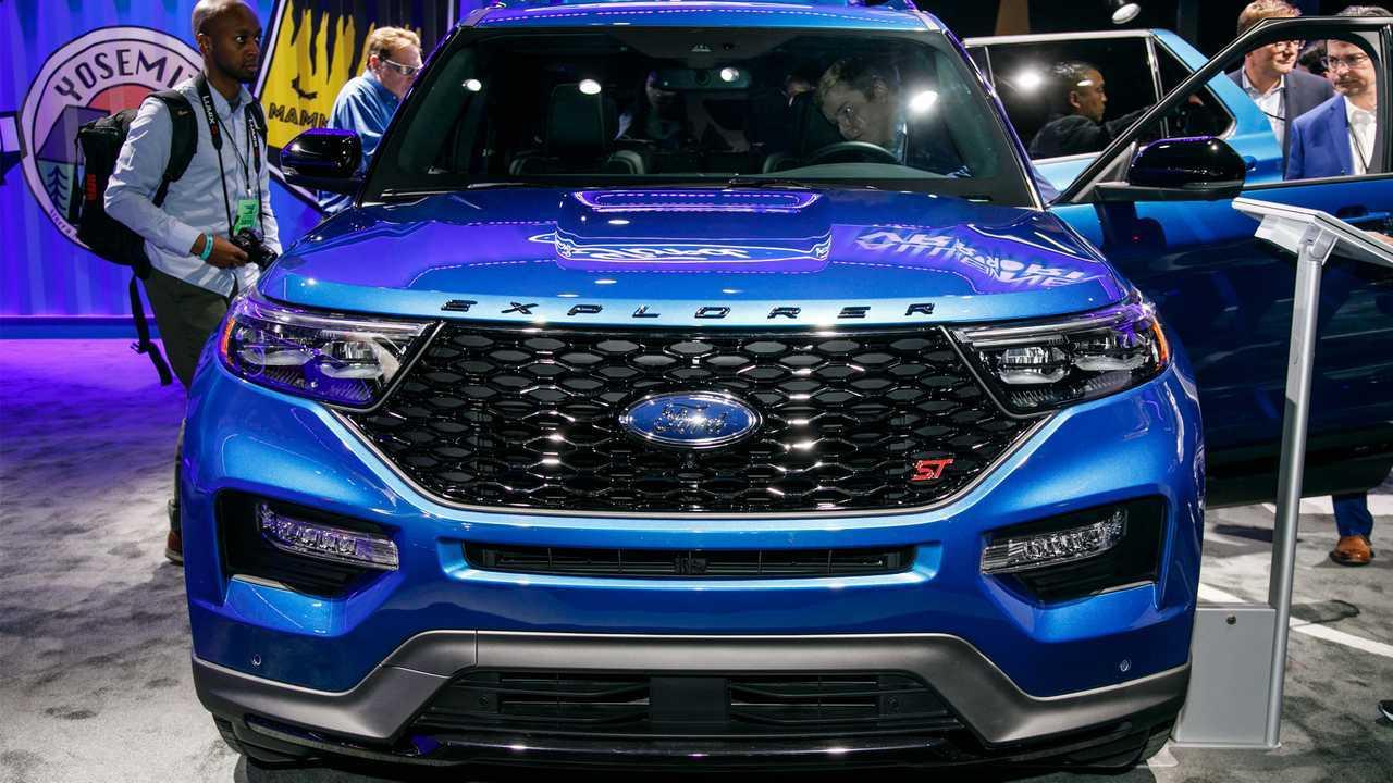 2020 Ford Explorer ST Live NAIAS
