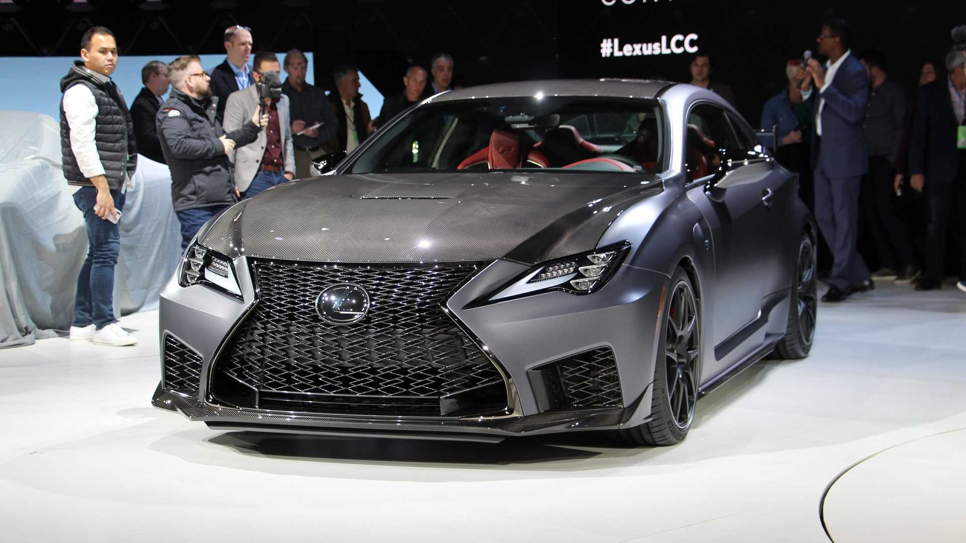 2020 Lexus Rc F Rc F Track Edition First Review Kelley Blue Book