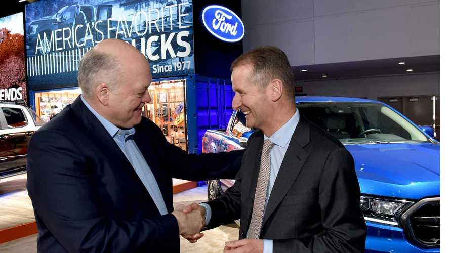 Accordo Volkswagen-Ford sui veicoli commerciali