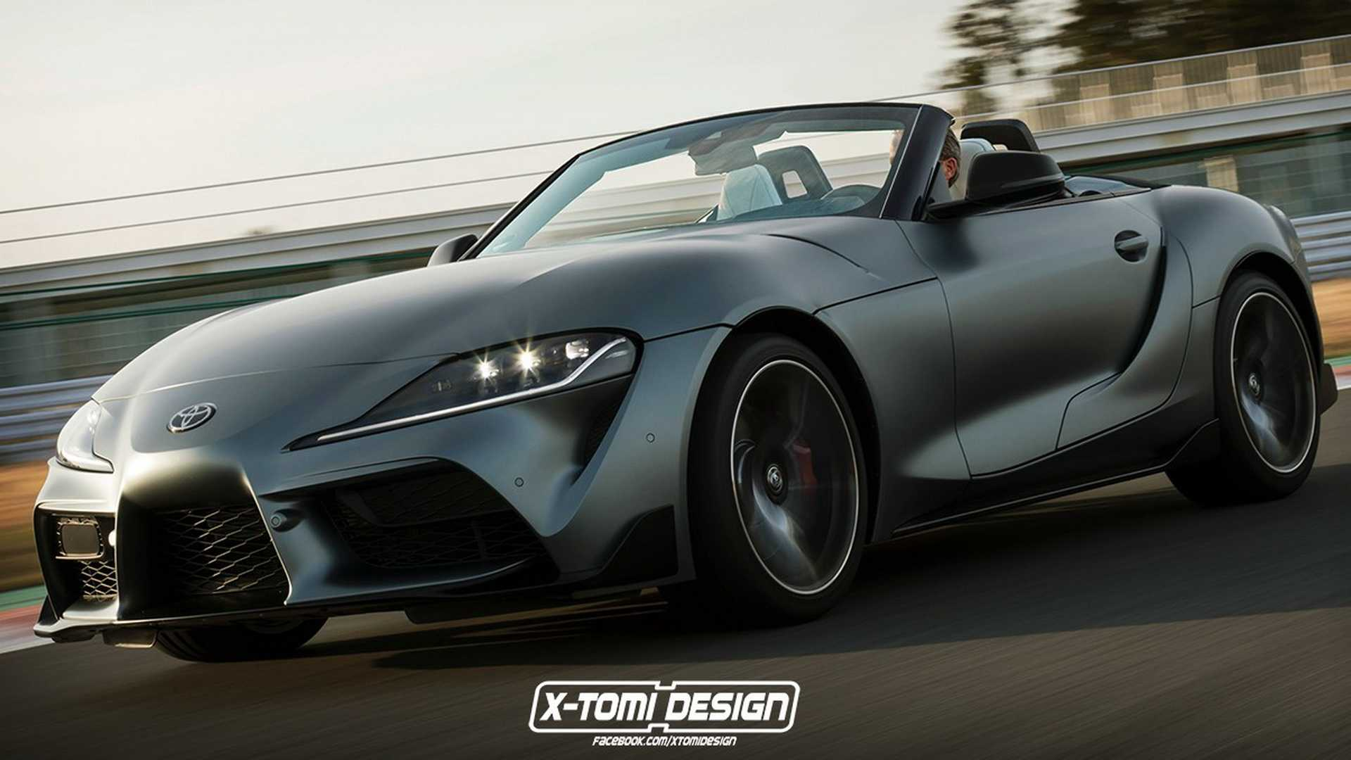 37f36f7755 Toyota Supra Cabrio Rendered As Japan's BMW Z4