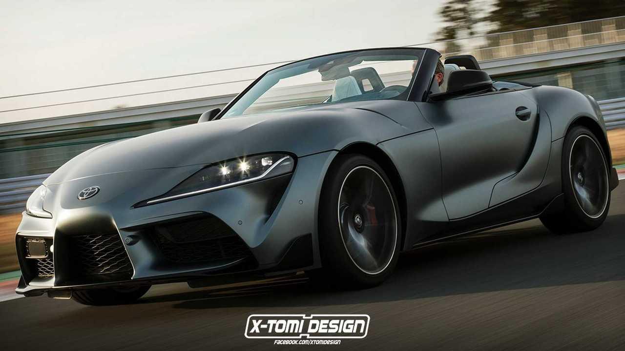2020 Toyota Supra Convertible render