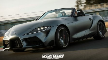 Illustration - Toyota Supra Cabrio, ou la BMW Z4 japonaise