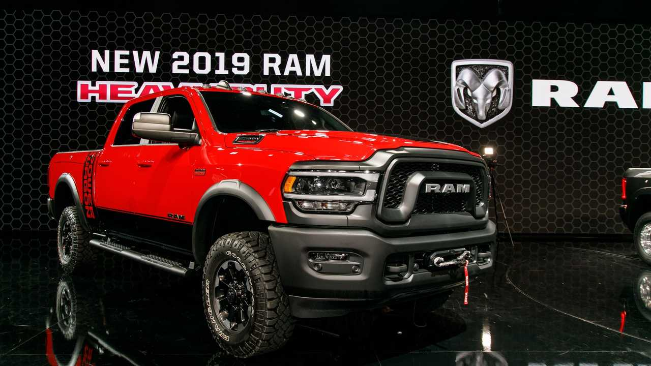 2019 Ram Heavy Duty live NAIAS (Photo by Chris Amos)
