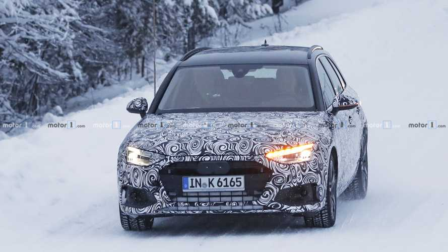 2020 Audi A4 Avant spy photos