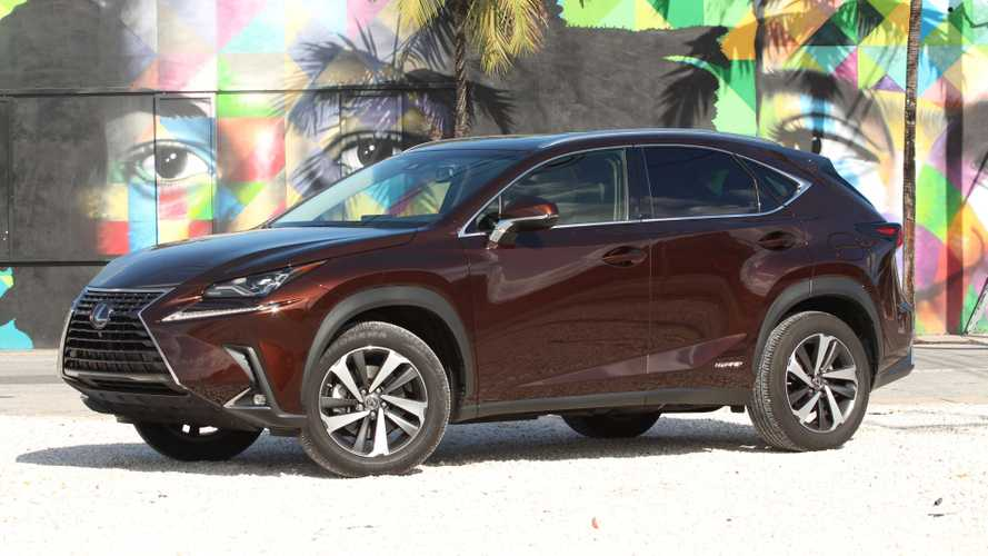 2018 Lexus NX 300h: Driving Notes