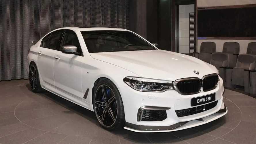 BMW M550i with AC Schnitzer body kit