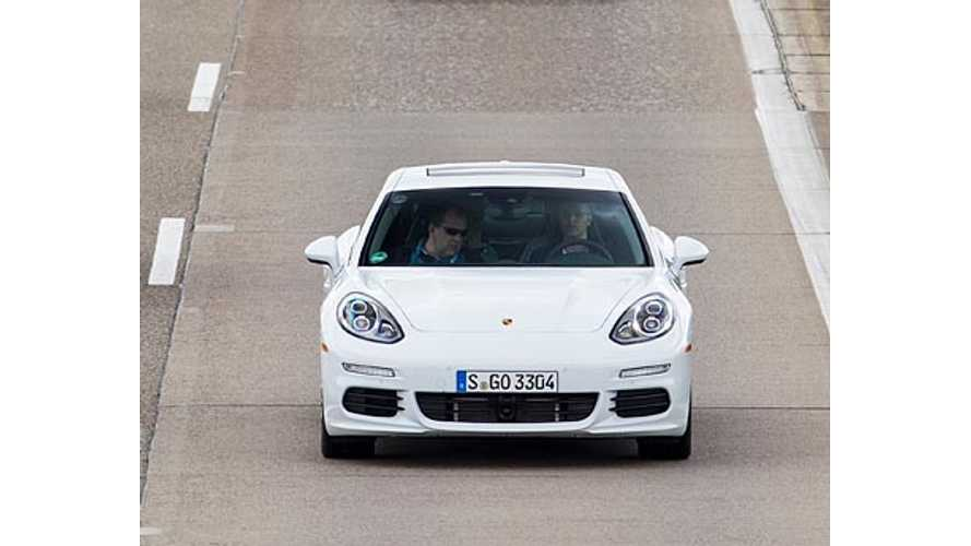 Porsche Panamera S E-Hybrid Qualifies For UK's £5,000 Plug In Car Grant