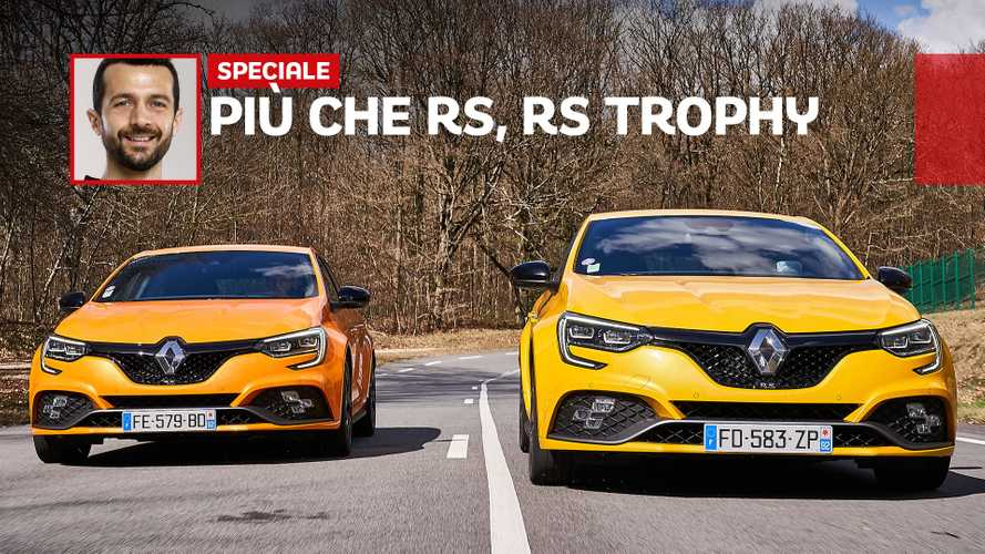 Renault Megane RS Trophy, divertimento livello