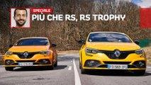 renault megane rs trophy prova in pista