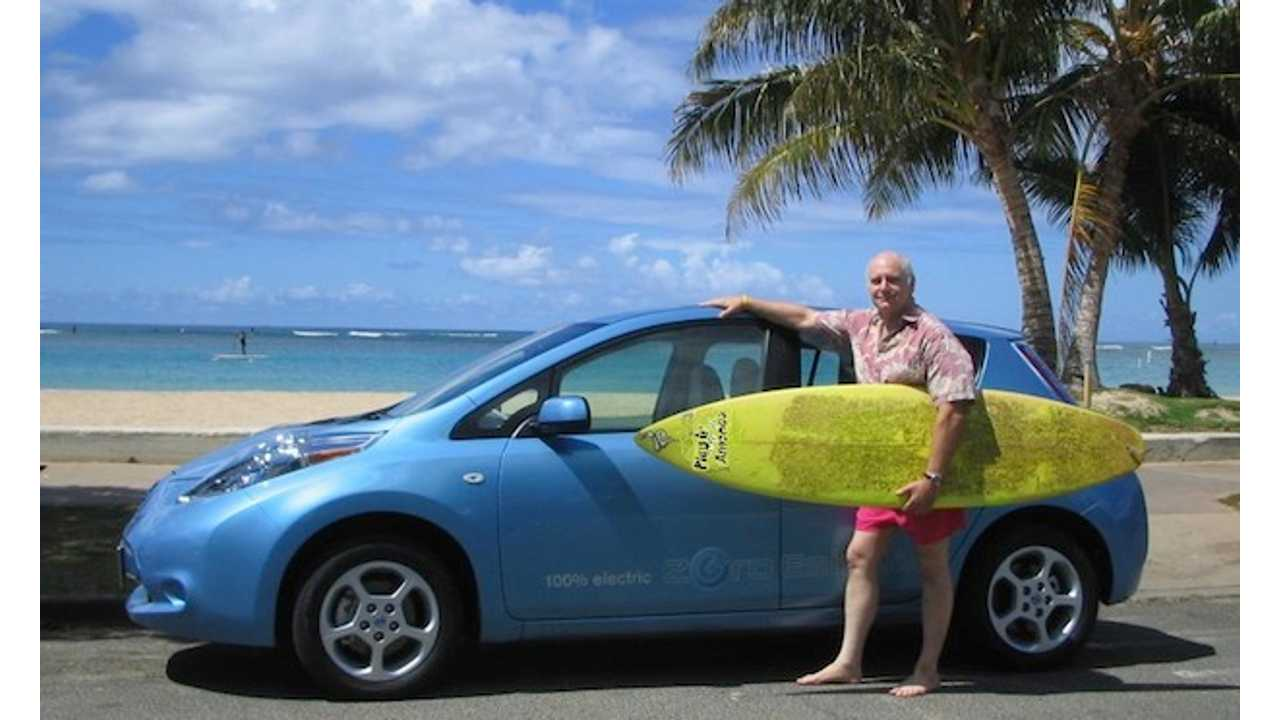 Nissan LEAF in Hawaii