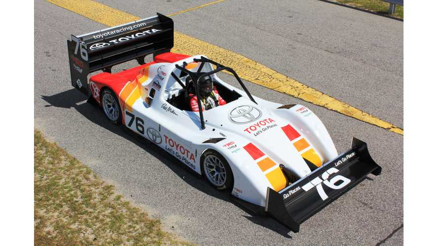 Toyota TMG EV P002 Ready to Battle to Retain Title at 2013 Pikes Peak International Hill Climb