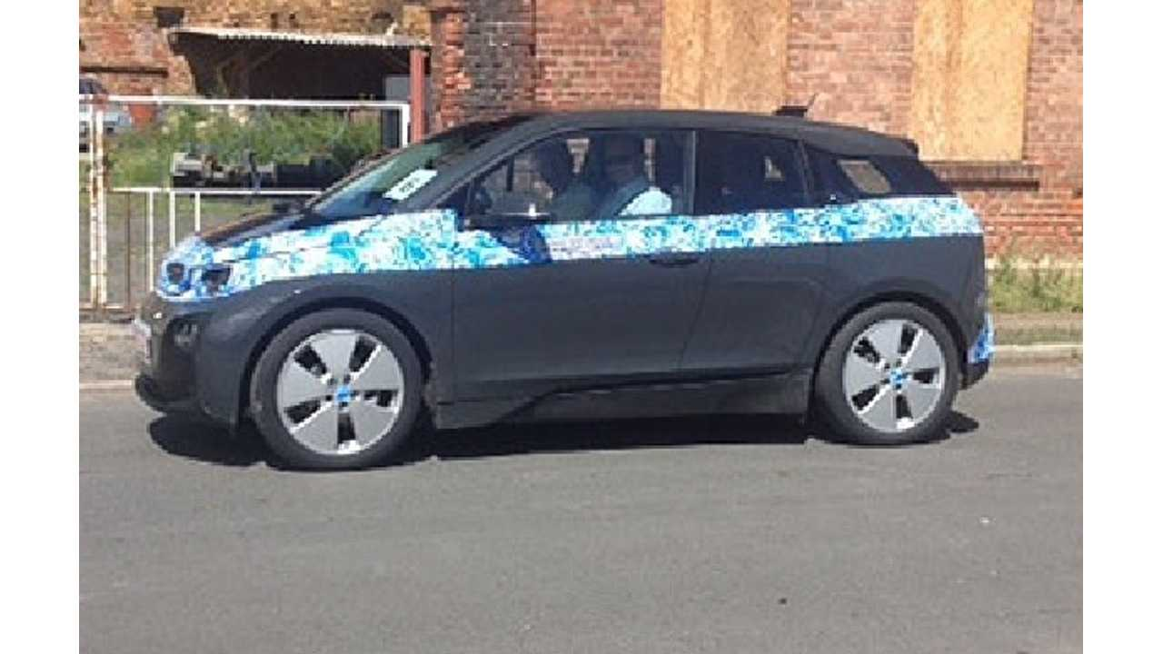 Our Best Look At The BMW i3 So Far As Test Mules Shed Some Camouflage