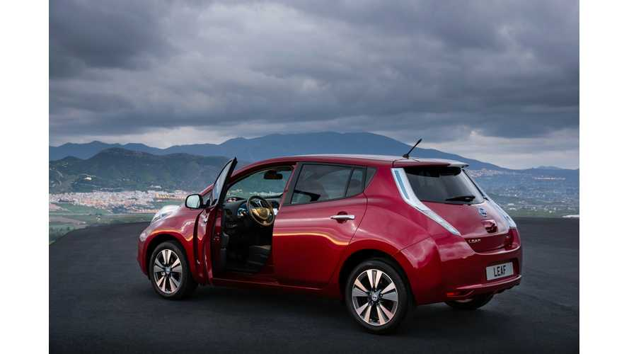 For First Time Ever, Combined Japan and US Nissan LEAF Sales Exceed 3,000 Units in Single Month