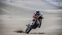 ktm is going motorcycle racing in the abu dhabi desert