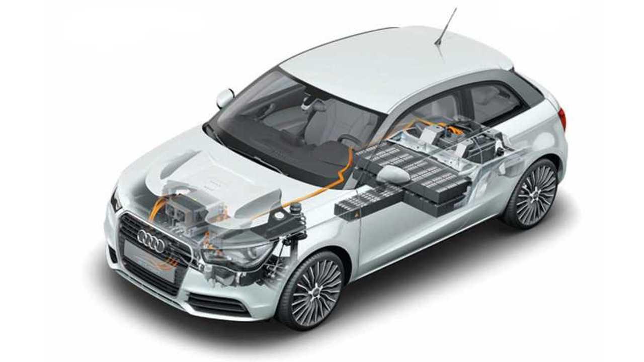 Audi future lab: mobility /Audi A1 e-tron