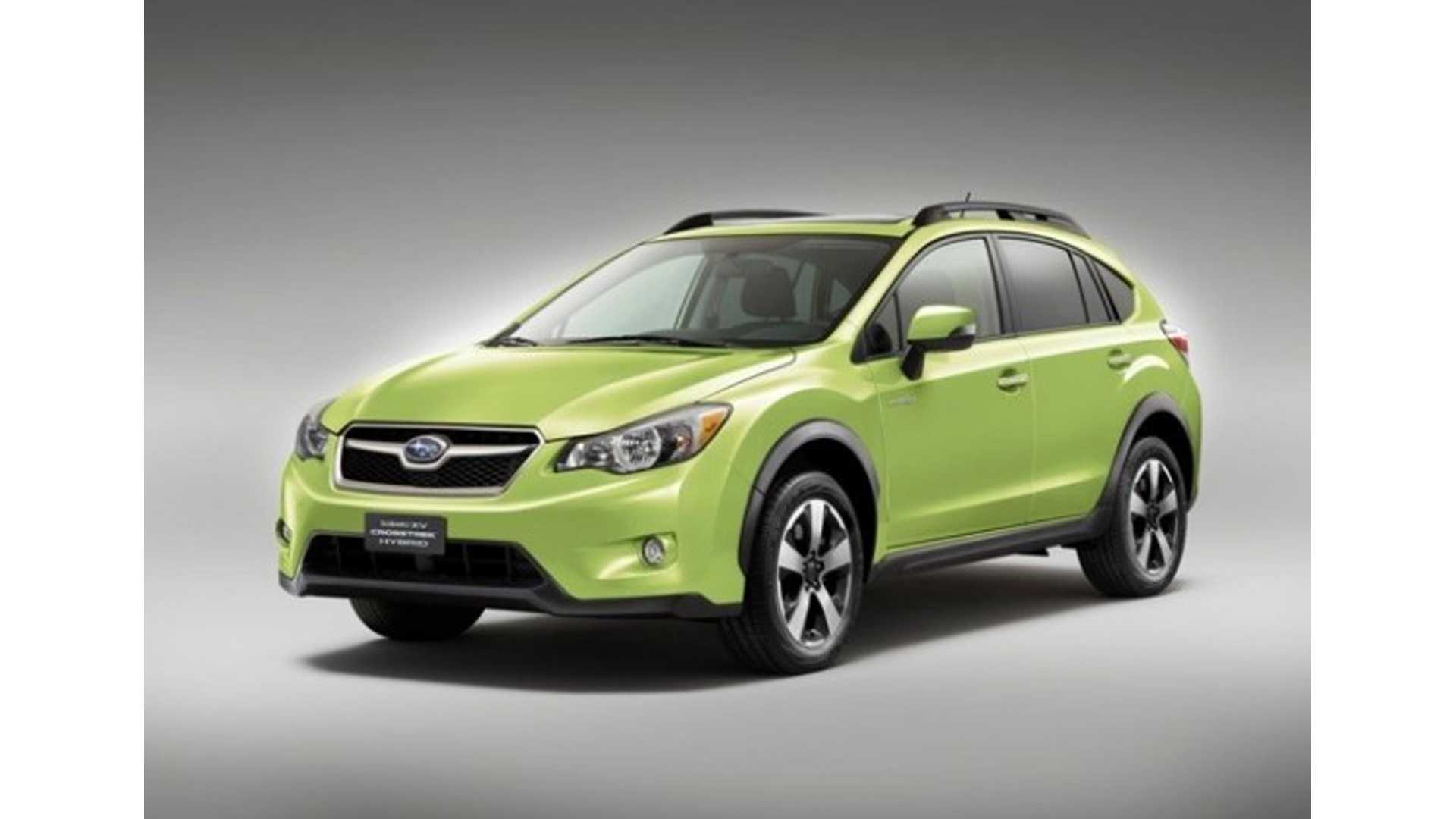 Subaru Xv Crosstrek Hybrid Is Automaker S First Step Towards 2017 Ish Plug In Vehicle