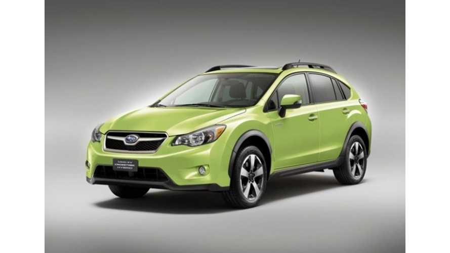 Subaru XV Crosstrek Hybrid is Automaker's First Step Towards 2017-ish Plug-In Vehicle
