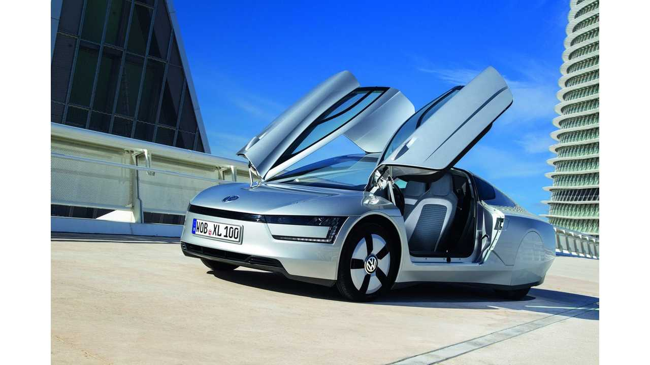 Ultra-Efficient XL1 Technology to Spread to Rest of Volkswagen Lineup