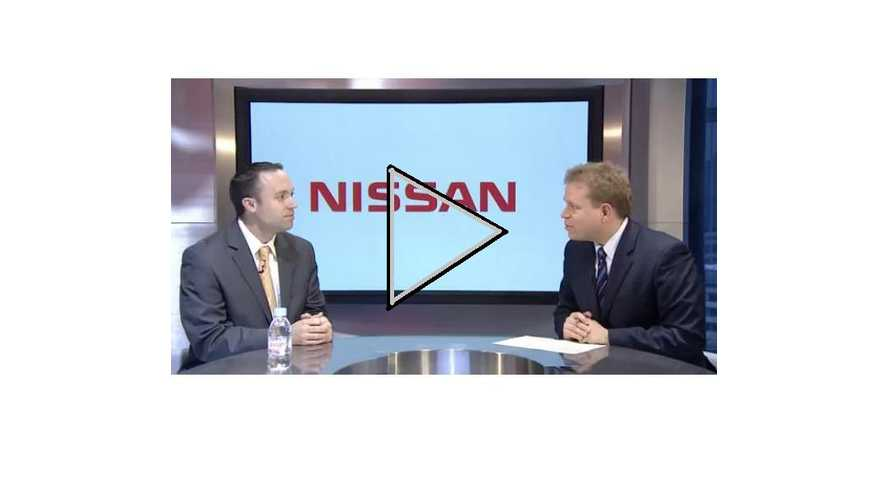 """Video:  Nissan Gives Update On LEAF Sales, Sees Ford As A """"Real Threat"""""""