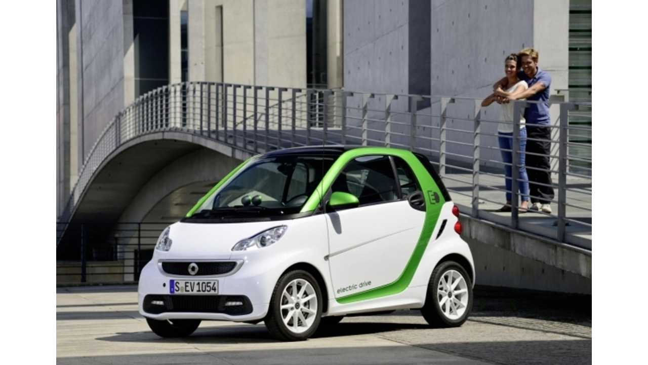 $25,000 Third-Generation Smart Fortwo Electric Drive Still Coming to US This Spring