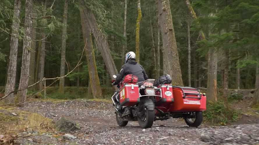 Two-Wheel Adventurer Teaches The Art Of Sidecar Off-Roading