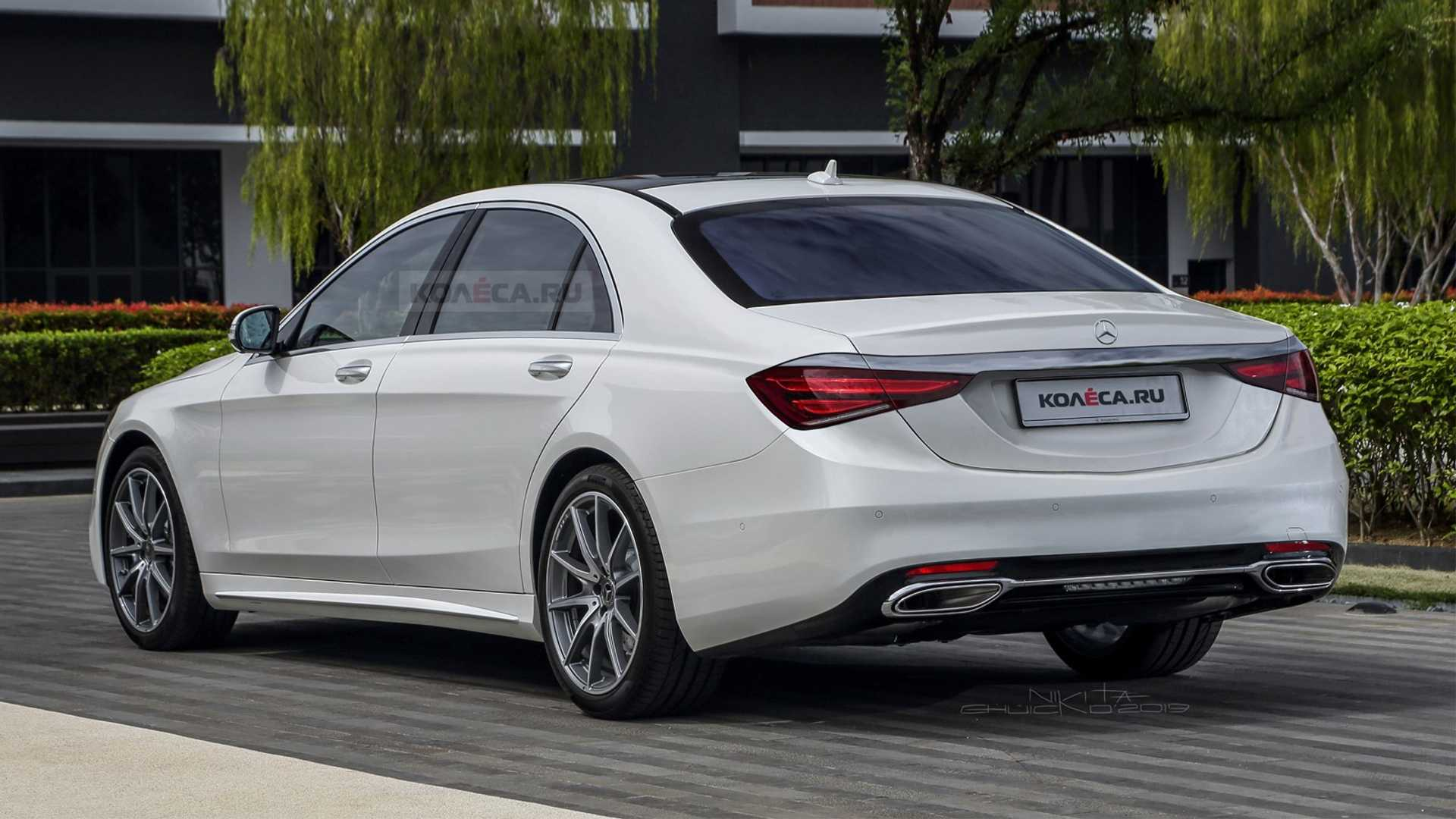 2020 Mercedes S Class Render Is Evolutionary Design Done Right