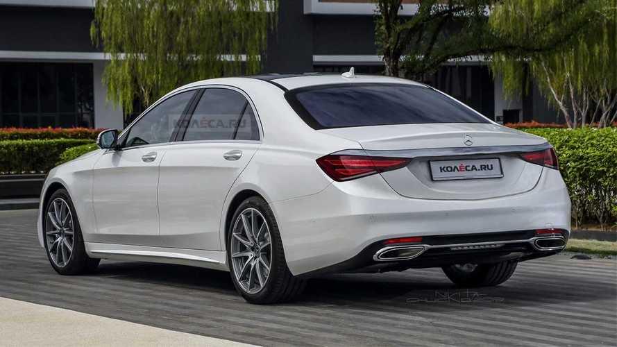 Des rendus réalistes de la nouvelle Mercedes Classe S