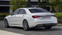 2020 Mercedes S-Class Sedan render