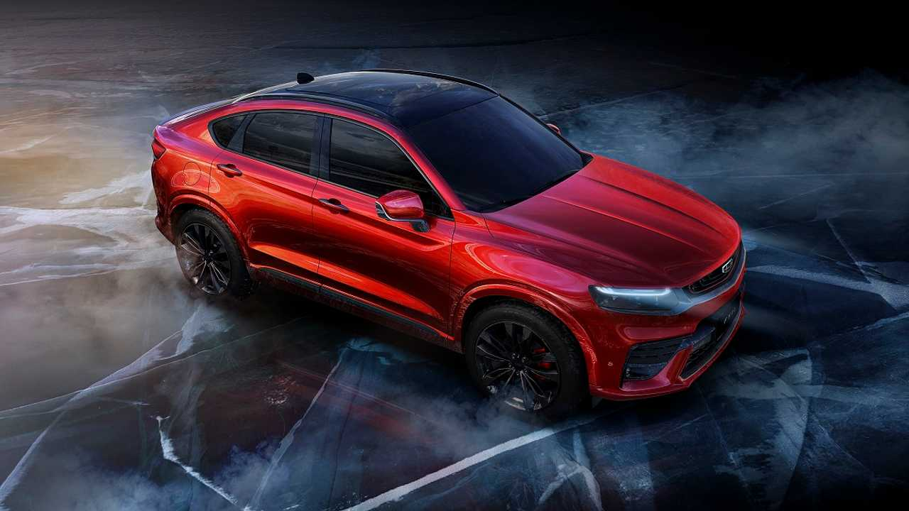 SUV Coupe Geely FY11