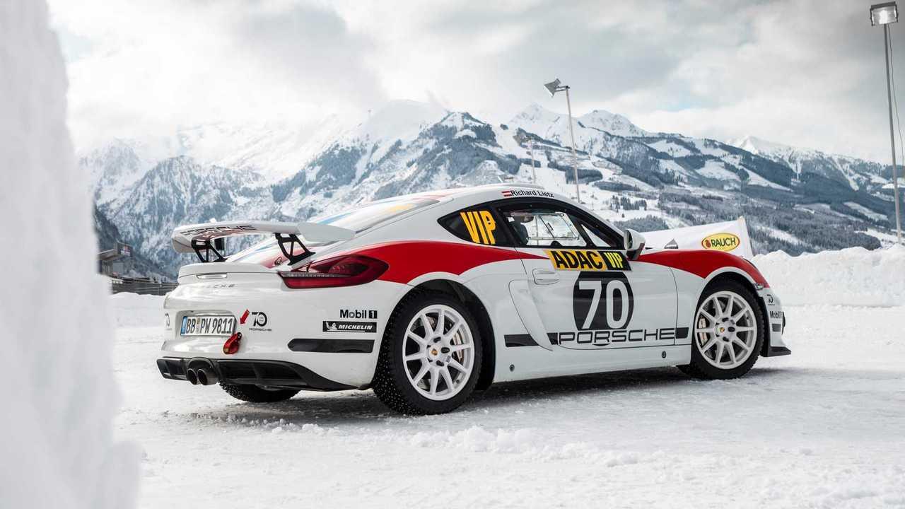 Porsche Cayman GT4 Clubsport FIA GT-R 9