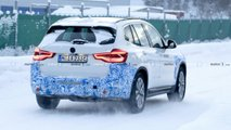 BMW iX3 Spy Photo