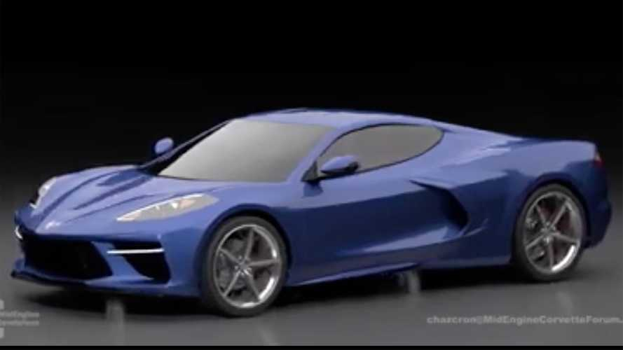 Mid-Engined Chevrolet Corvette Render Video