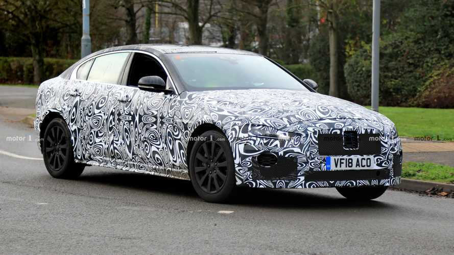 2020 Jaguar XE Models Spied Both Wet And Dry