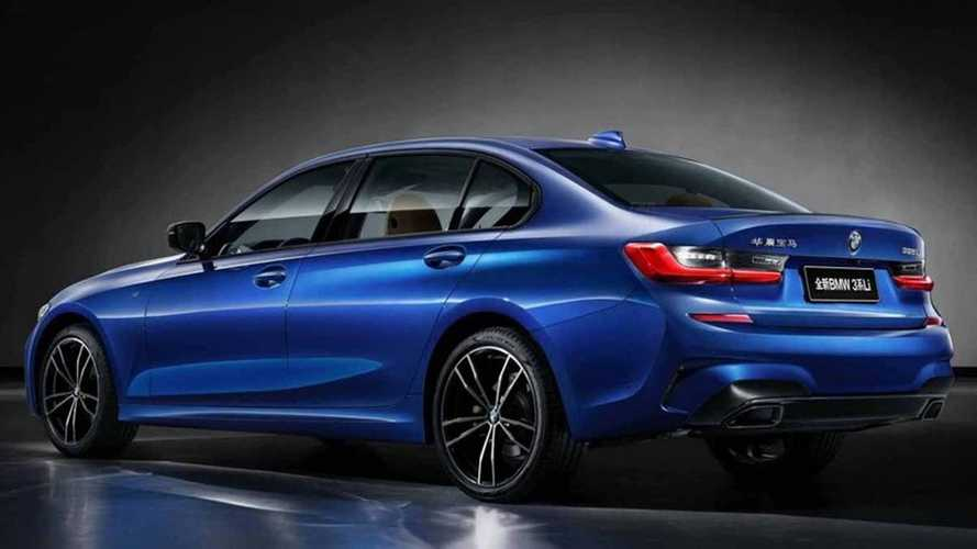 2019 BMW 3 Series long wheelbase (CN spec)