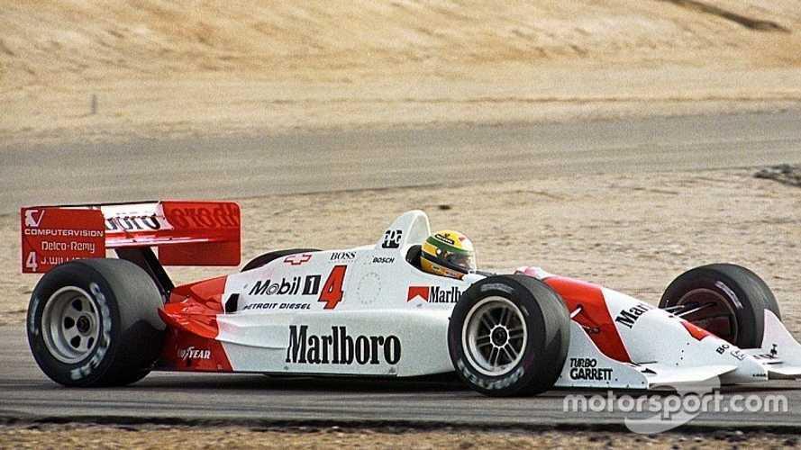 Il y a 26 ans, Senna prenait le volant d'une IndyCar