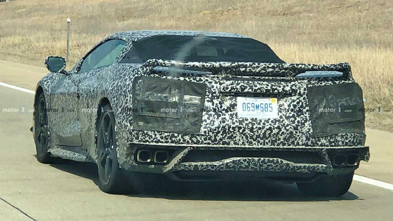Mid-Engined Chevrolet Corvette C8 Spy Shots