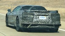 Mid-Engined Chevrolet Corvette C8 Spy Shots