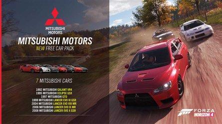Mitsubishi Debuts In Forza Horizon 4's Latest Update