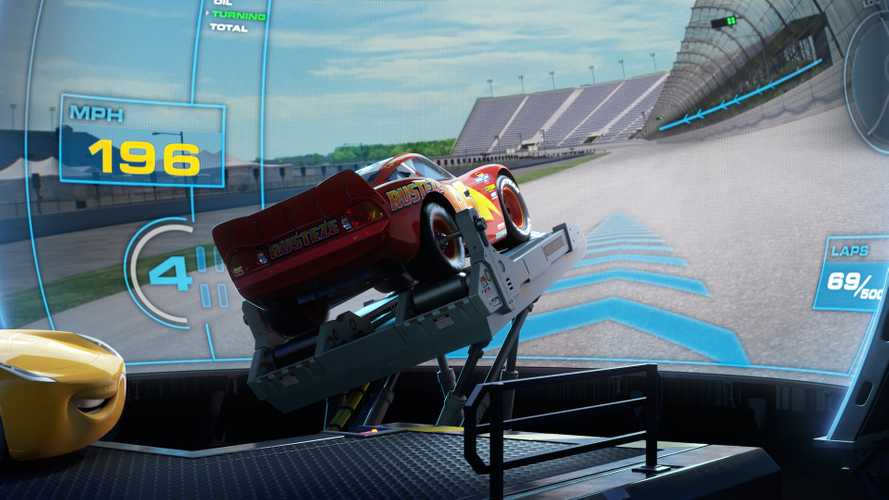 Disney Is Building A Real-Life Racing Simulator From Cars 3
