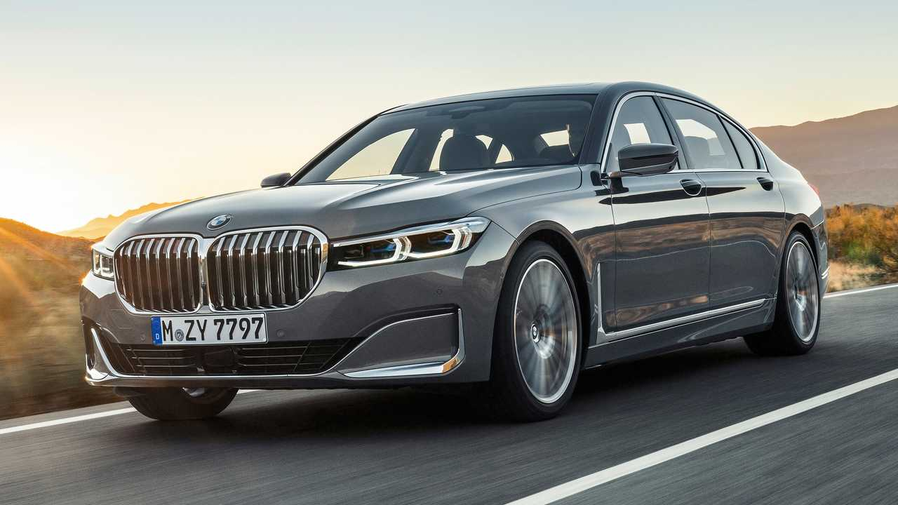 2020 Bmw 7 Series Debuts With Massive Grille New V8 Engine