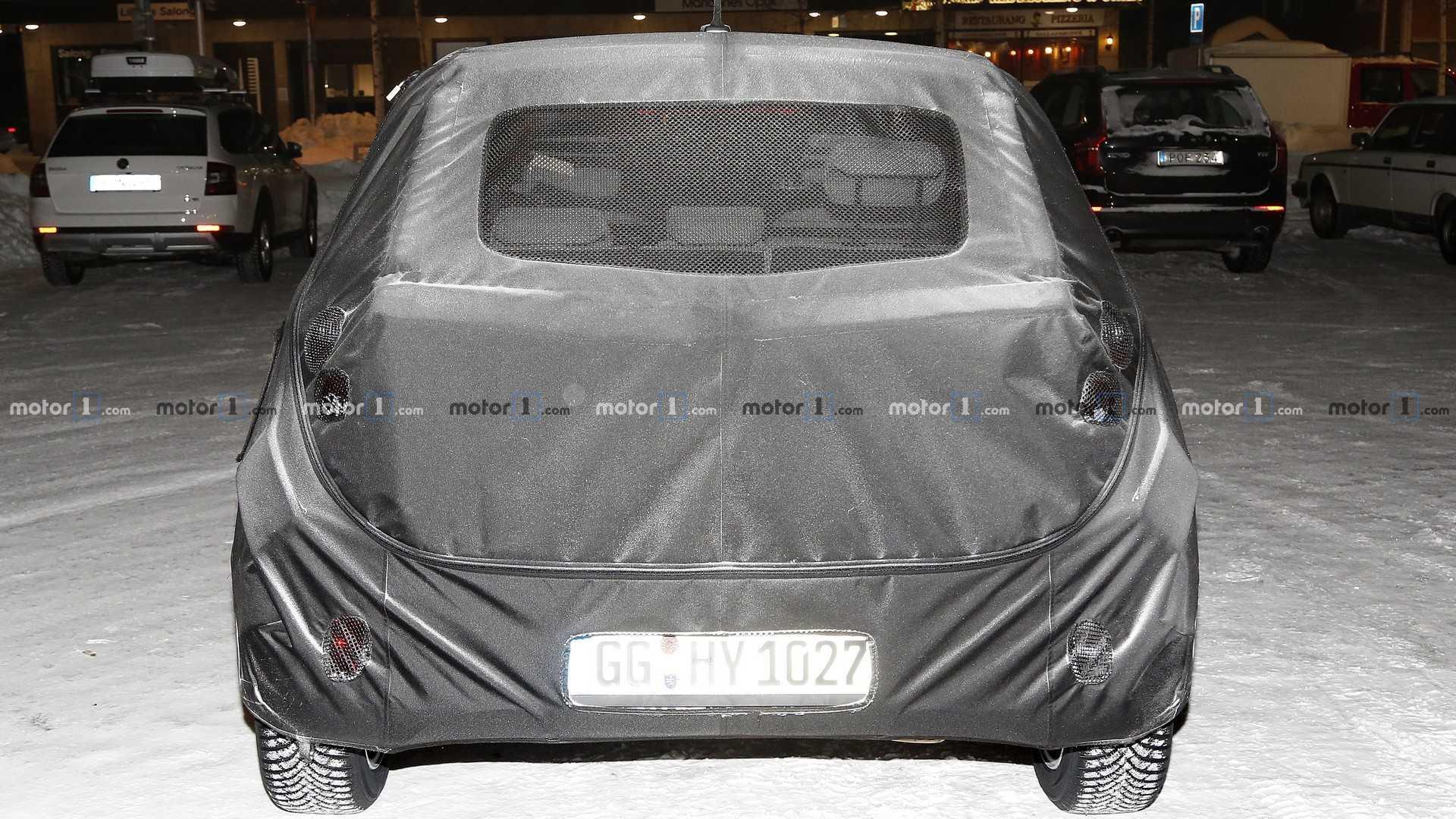 Hyundai i10 (2020) als Erlkönig erwischt